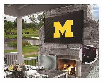 Amazon com : Holland Bar Stool Co  Michigan Wolverines Black