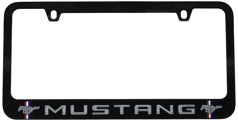 Ford Mustang Black License Plate Frame
