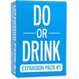 Do or Drink - Card Game - Expansion Pack #1 - Party Game - Dares for College, Camping and 21st Birthday Parties