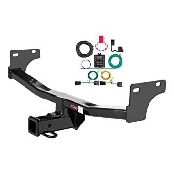 CURT 99318 Cl 3 Trailer Hitch, 2-Inch Receiver, 4-Pin Wiring Harness on jeep patriot trailer wiring kits, jeep patriot hitch kit, jeep wrangler trailer wiring harness, jeep grand cherokee trailer wiring harness,