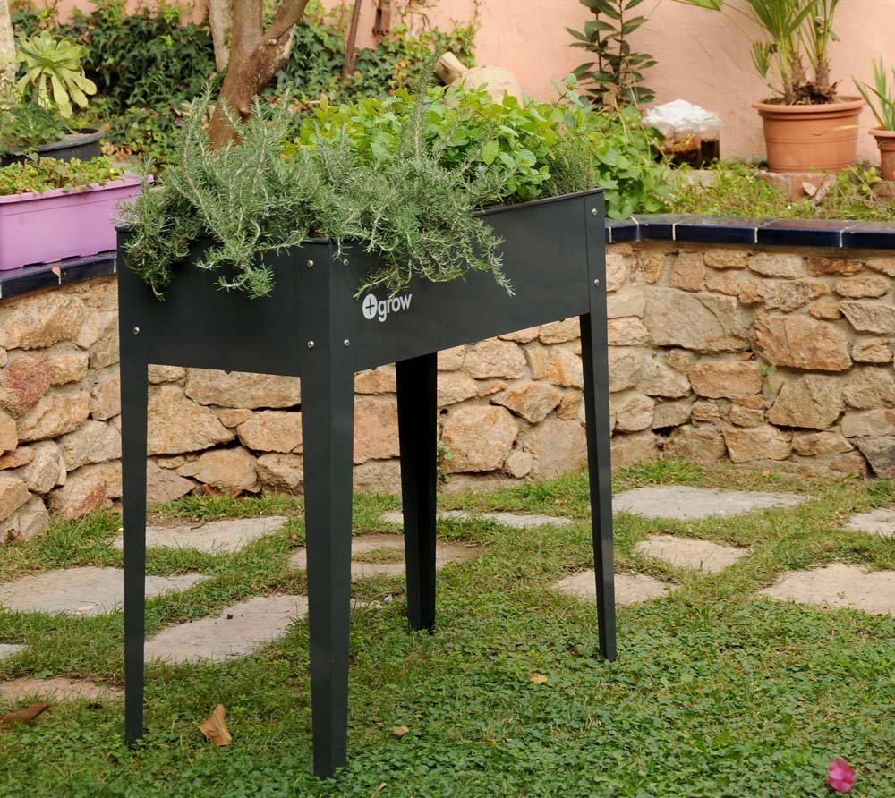 herstera Garden Bancal, Jardín Bancal & Mini Bancal Antracita//95 ...