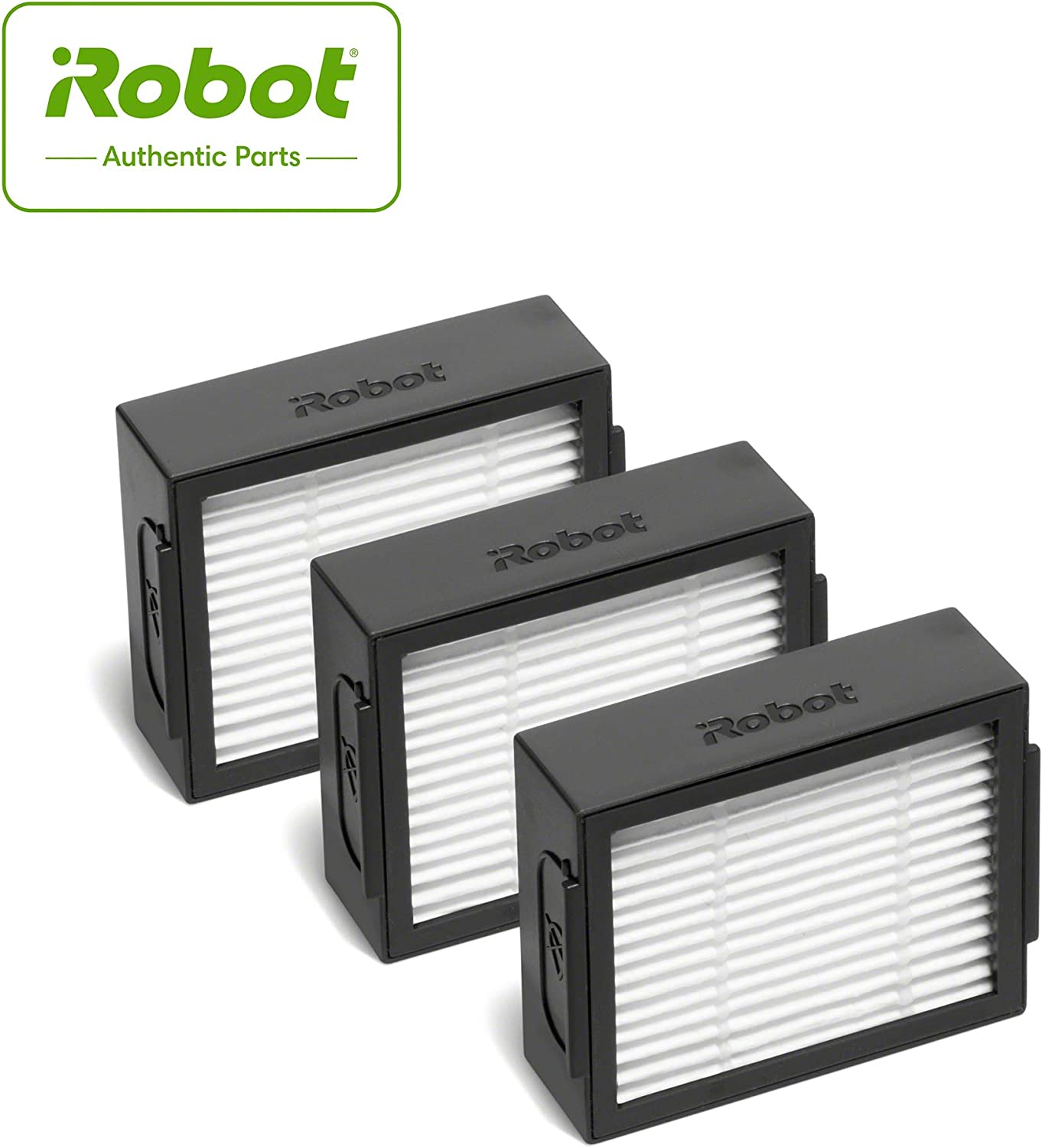 iRobotAuthentic Replacement Parts- Roomba e and i Series High-Efficiency Filter, (3-Pack),White - 4639161