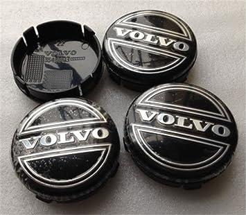 shangmao369 4 piezas W001 Emblema de 64 mm para tapacubos de rueda, cubierta central #3546923 Volvo V40 V60 S60 S80 XC60 XC90 accesorios para coche: ...