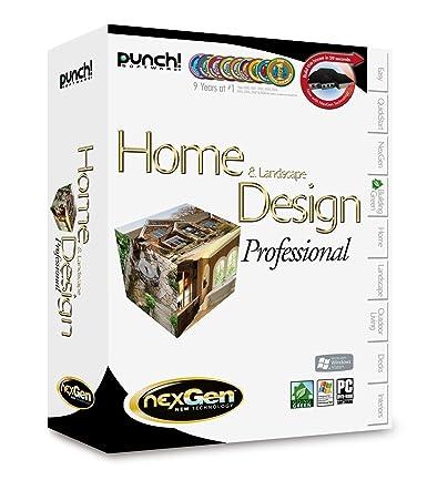 Amazon.com: Punch! Home & Landscape Design Professional with ...