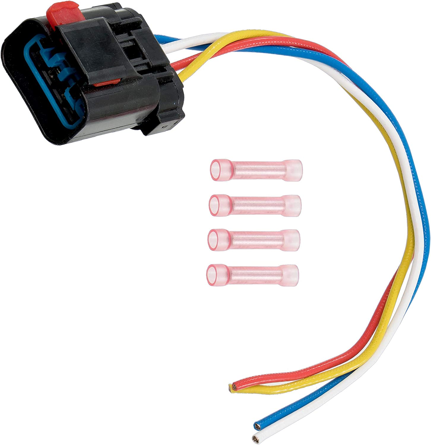 [DIAGRAM_3US]  Amazon.com: APDTY 013414-Harness 4-Wire Pigtail For Radiator Fan Control  Relay (Note: If Melting Occurred, Radiator Fan, Relay & Harness Replacement  Is Usually Also Neccesary, Replaces OE 4897034AA, 5013979AB): Automotive | 1999 Neon 2 0 Wiring Harness |  | Amazon.com