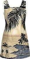 Robert J. Clancey Women's Island Escape Cotton a Line Short Tank Dress