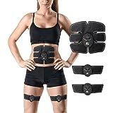Waist Muscle Toner: Wireless Slim Ab High Fat Burner 6 Pack Fitness Workout Equipment Adjustable Muscle Belly Fat Stimulator For Men & Women - Next Gen Fitness Advanced EMS Abdominal Waist Trainer
