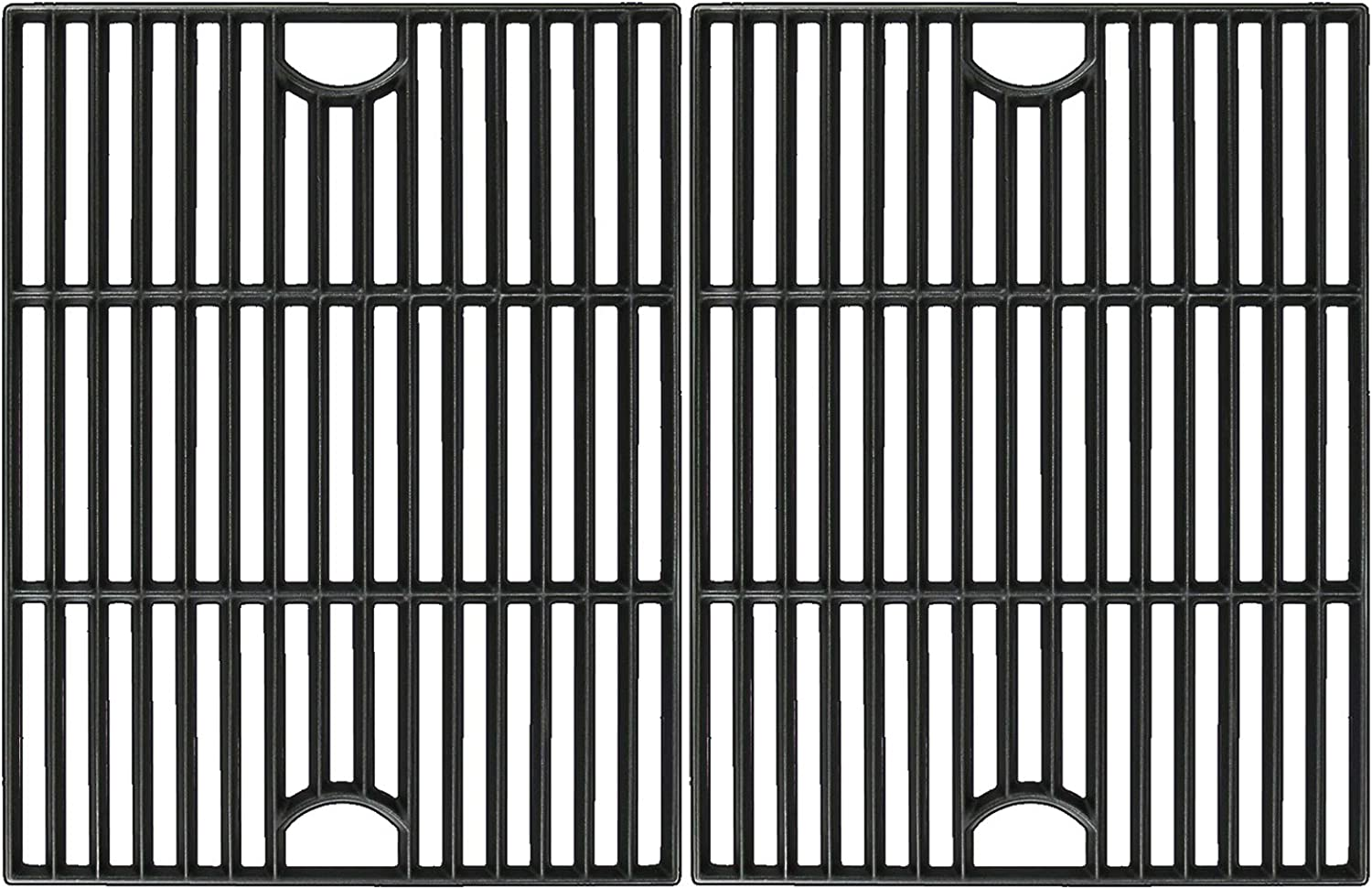 Utheer 17 Inch Cooking Grid Grate for Nexgrill 4 Burner 720-0830H, 5 Burner 720-0888 720-0888N 720-0888S, 720-0697, 720-0783E, Kenmore 720-0670A, Members Mark, Uniflame Grill Replacement Parts, 2 PCS