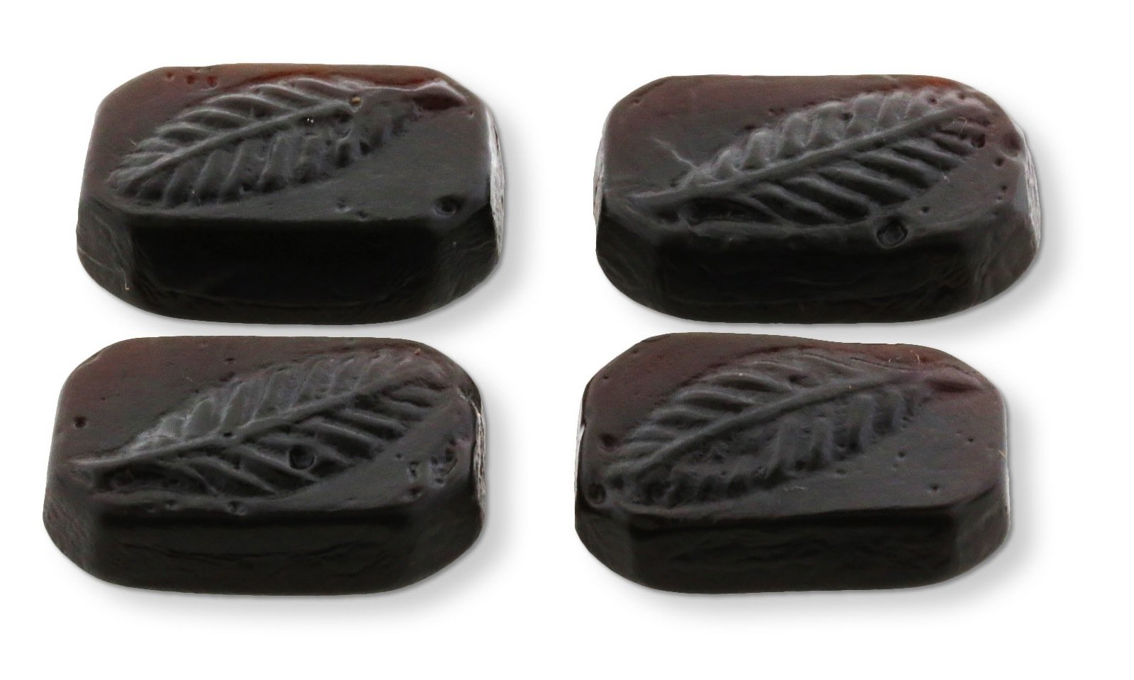 Gustaf, Touch Of Italy Licorice Hard Black licorice with a Hint Of Bay Leaf (2.200 Lbs)