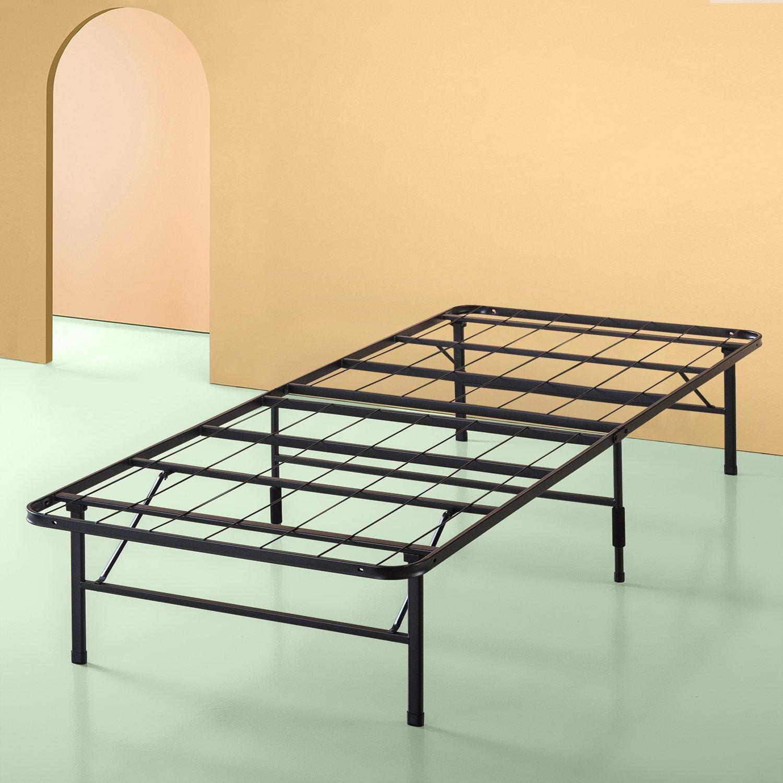Zinus Shawn 14 Inch SmartBase Mattress Foundation / Platform Bed Frame / Box Spring Replacement / Quiet Noise-Free / Maximum Under-bed Storage, Twin XL