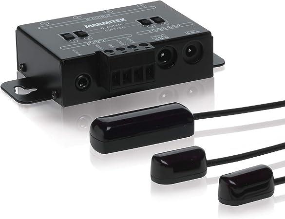 Infrarot Extender Marmitek Ir Control 10 Xtra Blaster Leds Max 300 M Extra Kleiner Empfänger Bedienen Von Geräte In Einem Geschlossenen Schrank Und Auf Größere Distanz Infrarotverlängerung Heimkino Tv Video