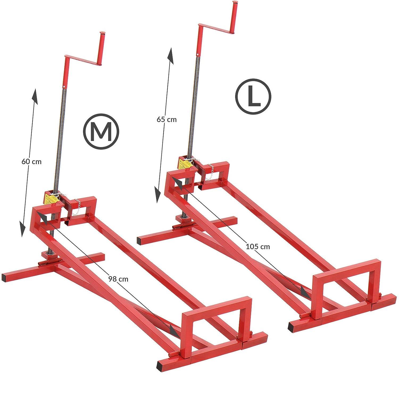 Timbertech - Elevador para Tractor de jardín - tamaño M 115 ...