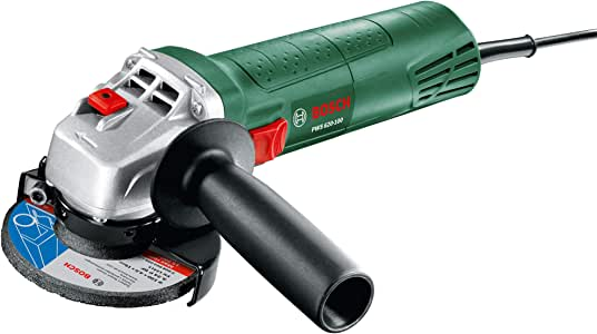 Bosch Angle Grinder PWS 620-100 (620 Watt, 100 mm, Grinding Disc Included, in Box)