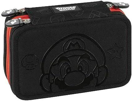 Super Mario Bros 62870 - Estuche con 3 cremalleras: Amazon.es: Oficina y papelería