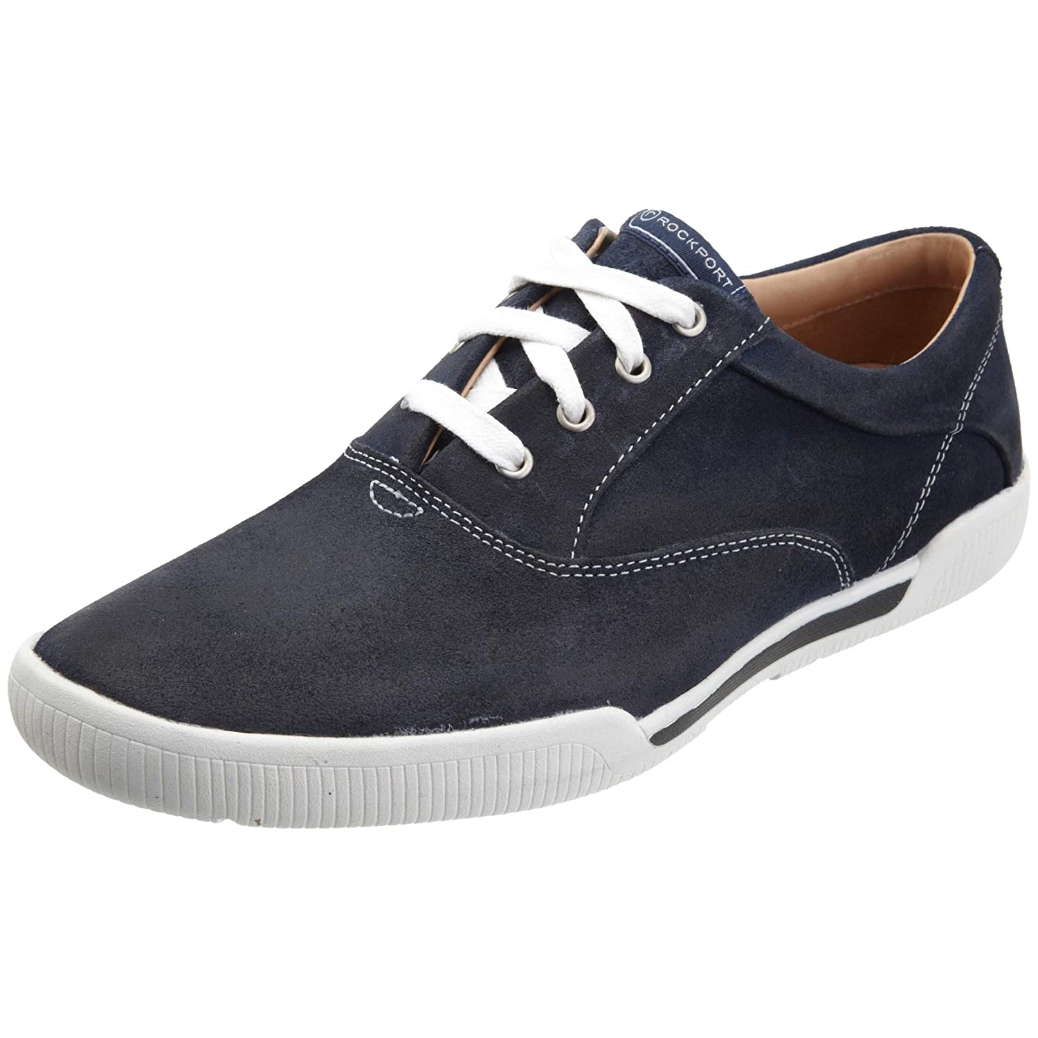 73b1e7d047 Rockport Men s Collins Navy Suede Lace Up K55328 11 UK