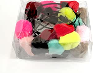 Set of colorful hair hoops with 12-piece fur