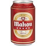 Mahou 5 Estrellas - Cerveza, lata 33 cl