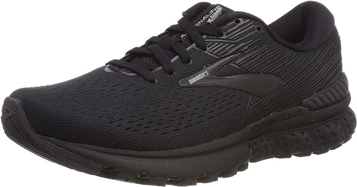 Brooks Adrenaline GTS 19 Sneakers Laufschuhe Damen komplett Schwarz