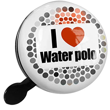 Amazon.com : NEONBLOND Bike Bell I Love Water Polo Scooter ...