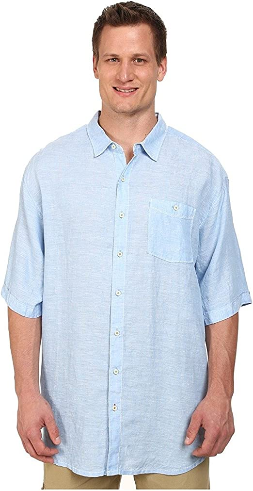 tommy bahama white linen shirt