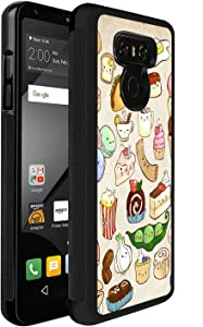 Newly 2021 Case for LG G6 Customized The Food Phone Case Design Clear Protective Case Creative Protective Case Shockproof Slim Fit Protective Phone