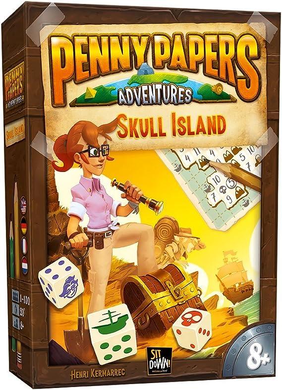 2 Tomatoes Games Penny Papers: La Isla de la Calavera, Multicolor (8437016497180-0): Amazon.es: Juguetes y juegos