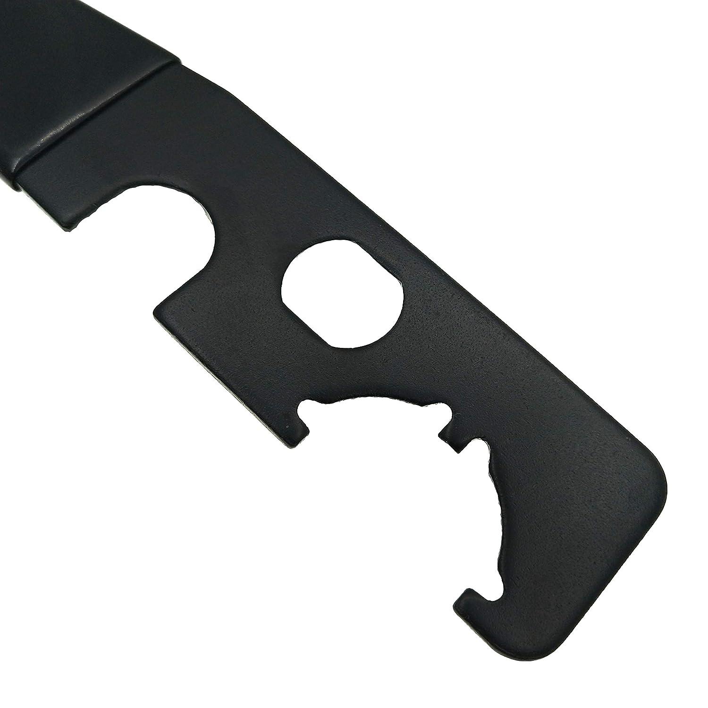 Huntiger Tactique Armorers cl/é /à molette Combo Armurier Outil//w Castle /écrou cl/é Longueur R/écepteur Extension d/éMontage A1//A2 Style