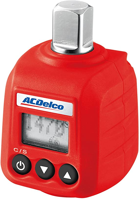"""ACDelco ARM602-4 1/2"""" Digital Torque Adapter (14.8-147.6 ft-lbs) with Audible Alert"""
