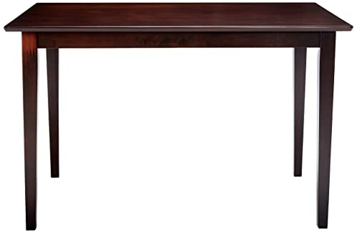 Clayton Rectangular Dining Table Cappuccino