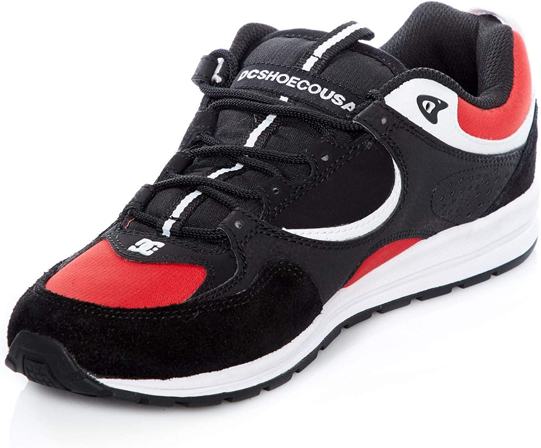 DC Black-Athletic Red-White Josh Kalis Signature Series Lite Shoe US 7, Black