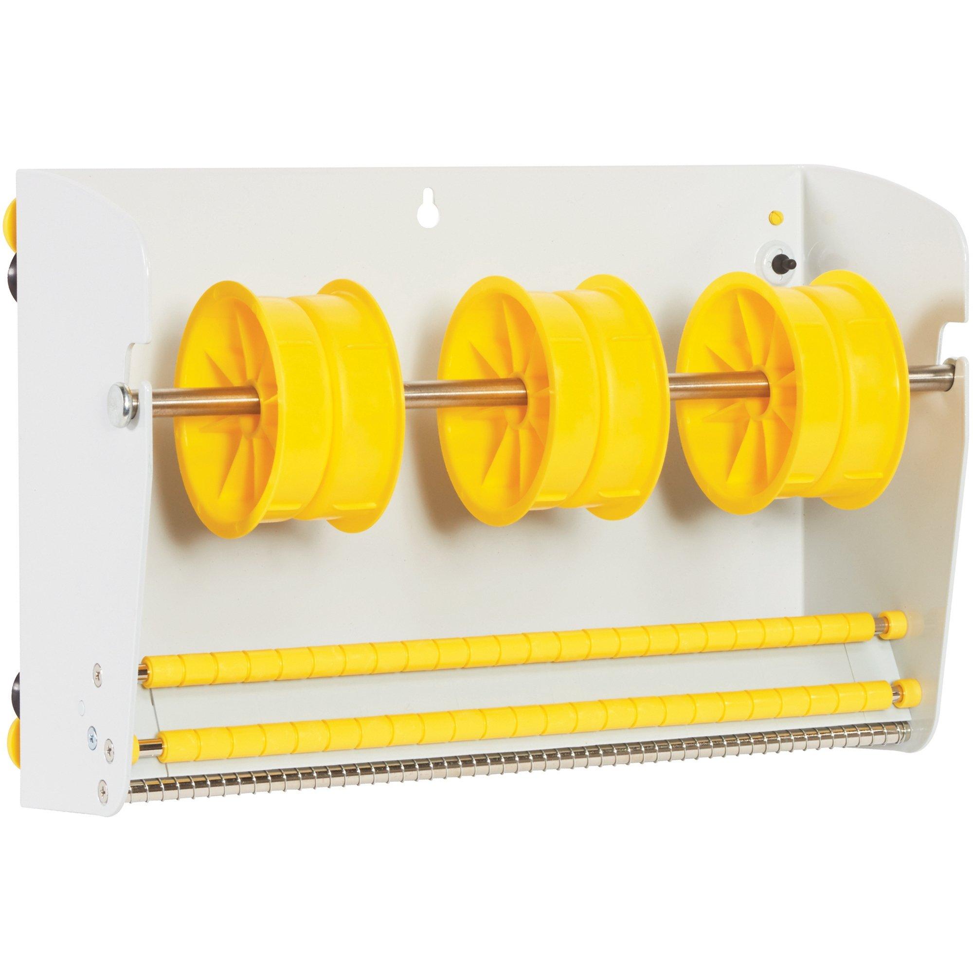 Aviditi Metal Wall Mount Label Dispenser, 12''-1/2'', Off White (LDM1250) by Aviditi