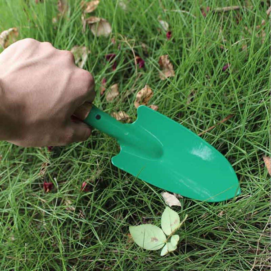 f/ácil de usar Pala de jardiner/ía con mango de madera reforzada Fogun