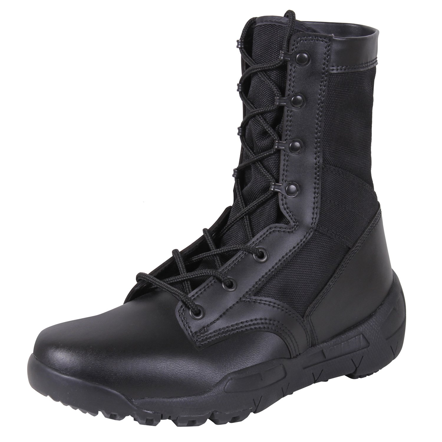 Rothco V-Max Lightweight Tactical Boot, Black, Size 10
