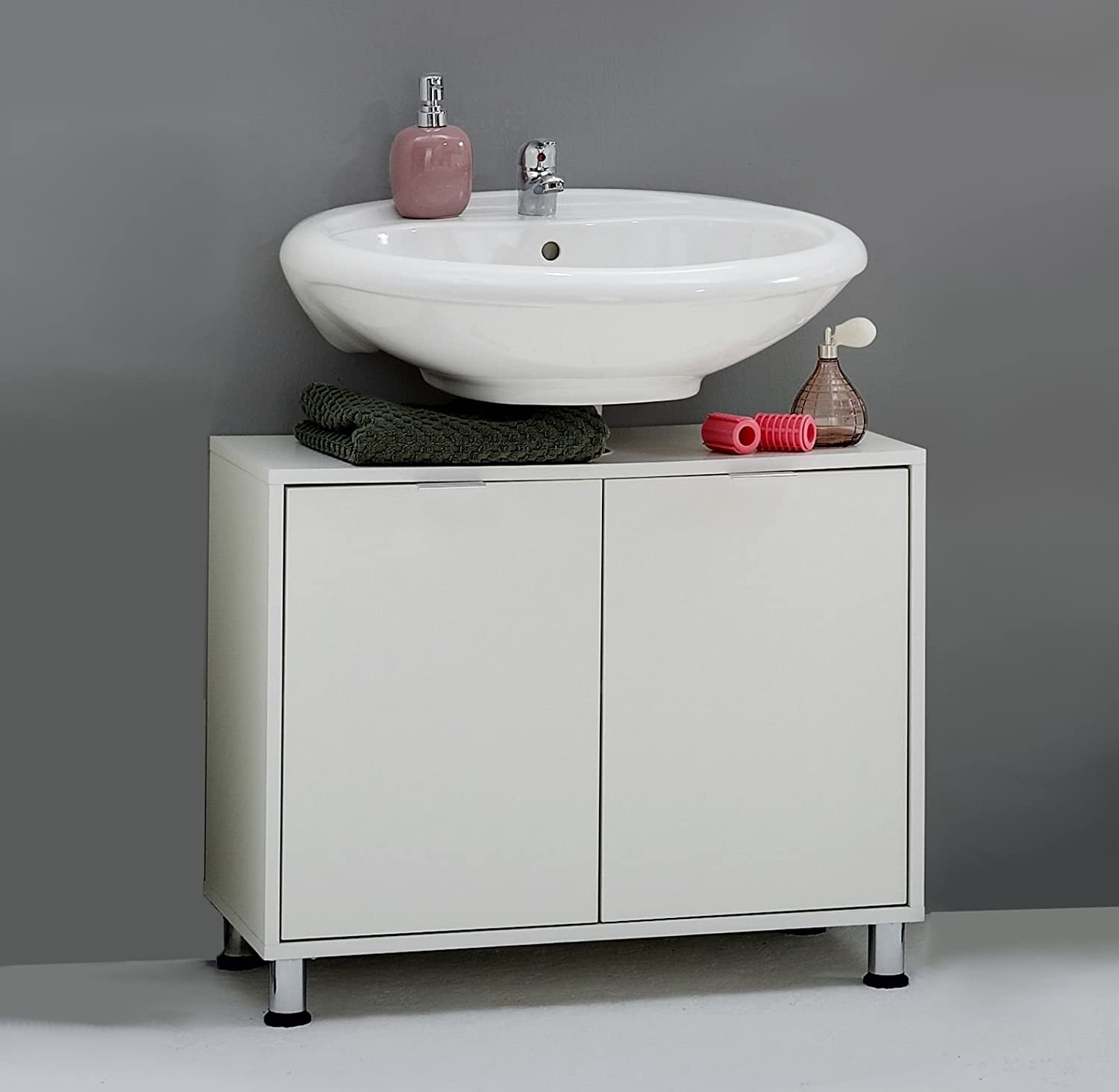 ZUMA Premium Under Sink Bathroom Vanity Storage Cupboard Cabinet