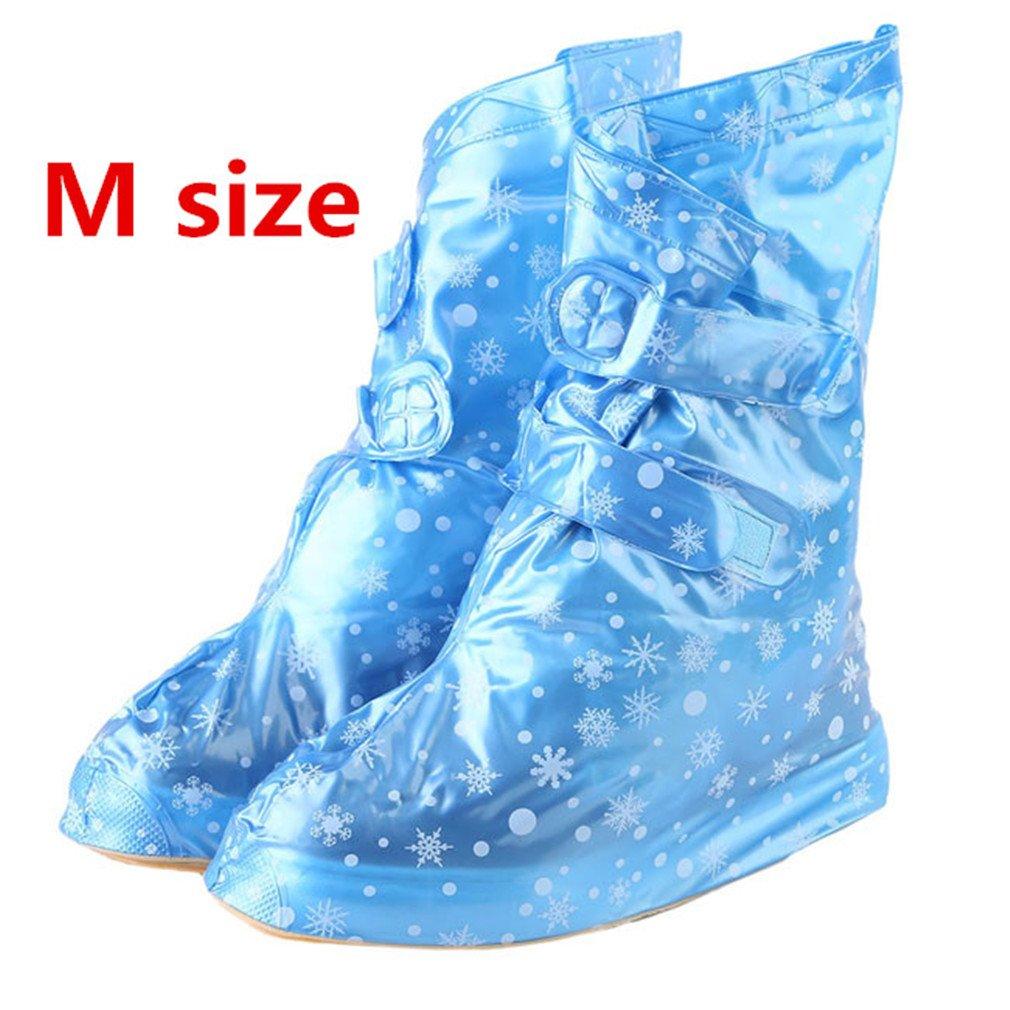 Reusable Rain Cover Waterproof Shoe Covers Boots Overshoes Shoe Protectors Rain M1