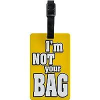 TangoTag Travel Accessory Luggage Tag, Yellow, HTC-TT820