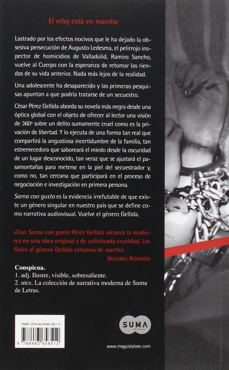 SCNM. SARNA CON GUSTO. REFRANES, CANCIONES Y RASTROS SANGRE: CESAR PEREZ GELLIDA: 9788483658512: Amazon.com: Books