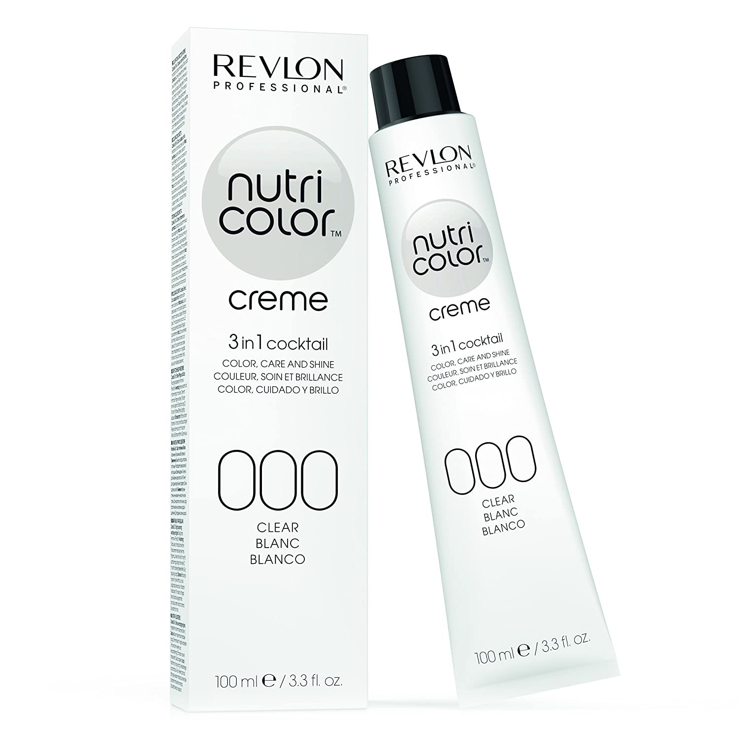 REVLON PROFESSIONAL Nutri Colour Creme 000 Clear 100 ml REVLON INTERNATIONAL CORPORATION 7241324000