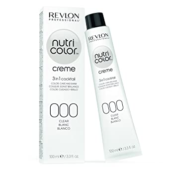 Revlon Professional Nutri Color Creme Nr 000 Clear 100 Ml Amazon
