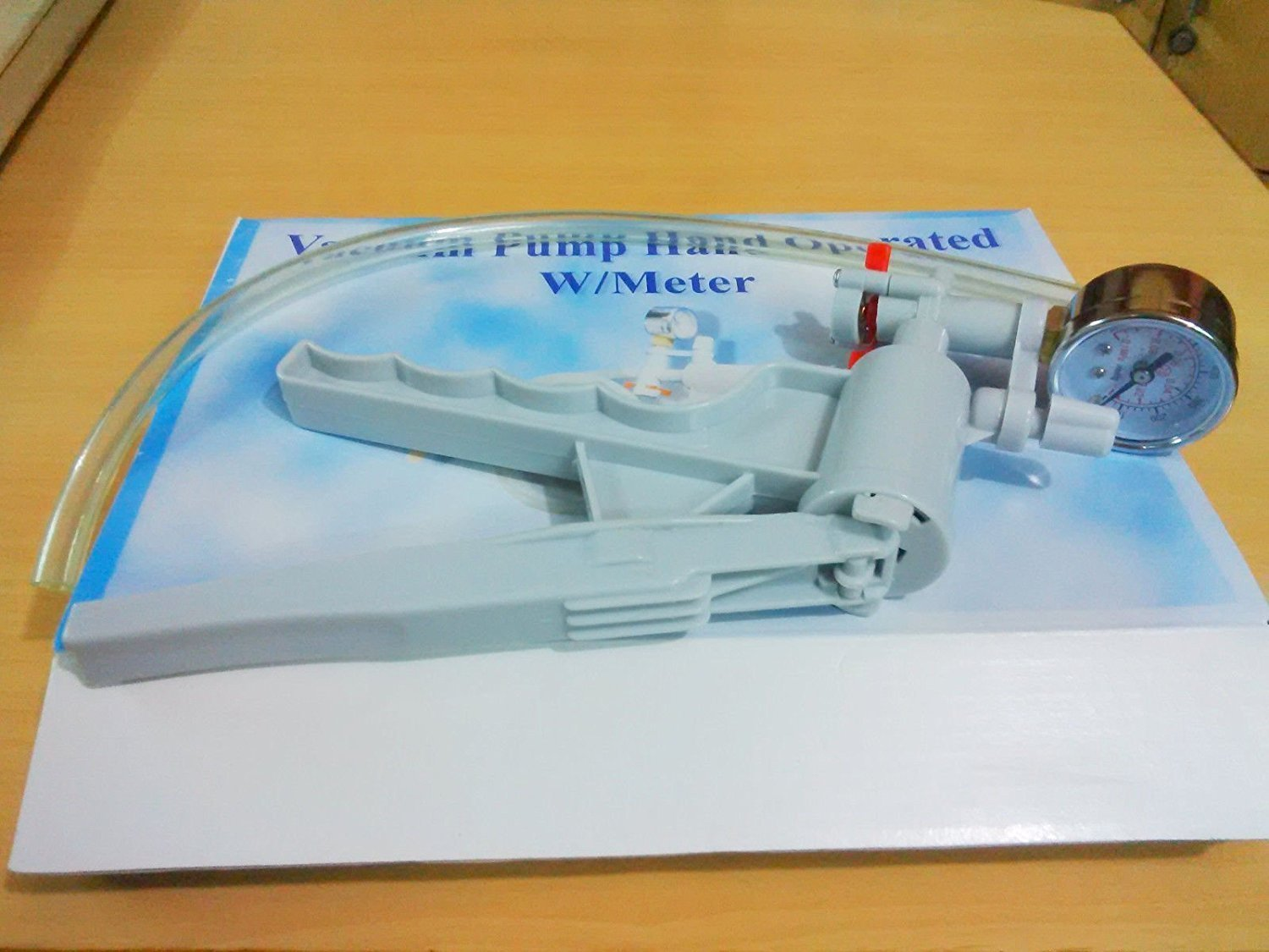 Pump Hand-held Vacuum Pressure Pump W/Meter in Top Quality