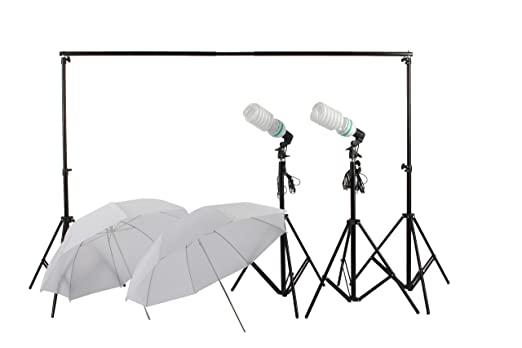 Fotofokus CA92 XL Profi Fotostudio Softschirme Studioleuchten Hintergrundstative