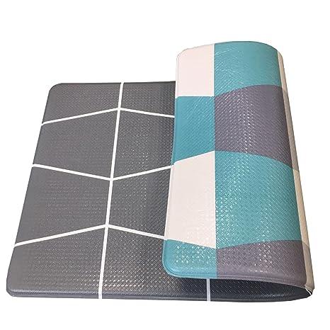 Amazon.com: Art3d Premium Reversible Cushion Kitchen Mat Anti ...