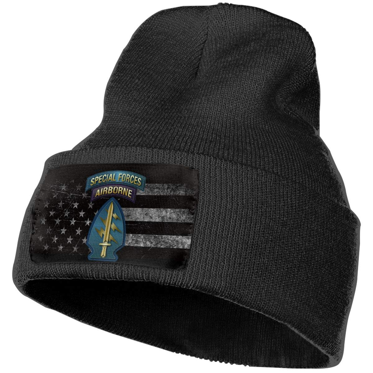 FORDSAN CP US AIR Force Special Forces Airborne Mens Beanie Cap Skull Cap Winter Warm Knitting Hats.