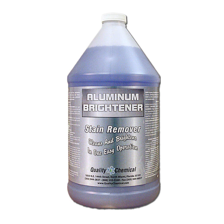 Aluminum Cleaner & Brightener & Restorer-1 Gallon (128 oz )