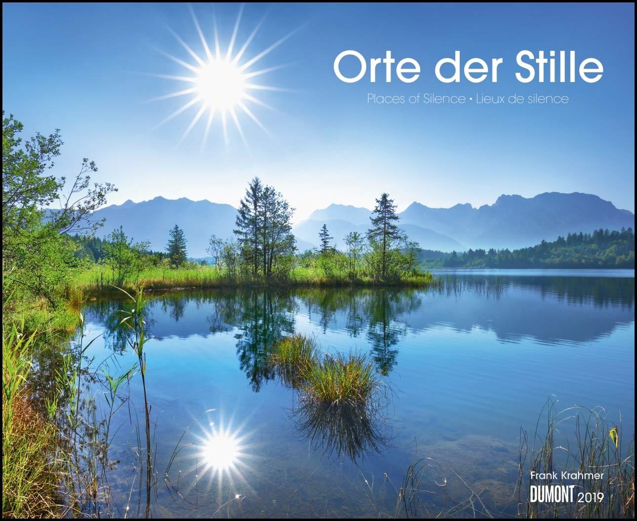 Orte der Stille 2019 – Wandkalender 52 x 42,5 cm – Spiralbindung