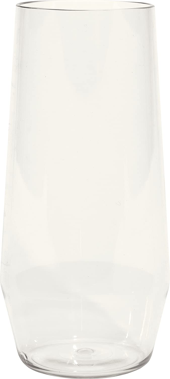 Clear Carlisle Carlisle 4950507 Astaire Shatter-Resistant Plastic Iced Tea Glass Capacity Eaches 18 oz
