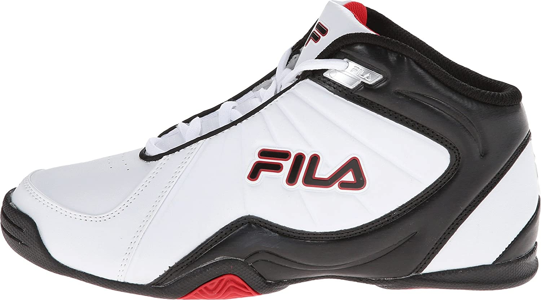 Chaussures Hommes Fila Noir Et Rouge rtb5C