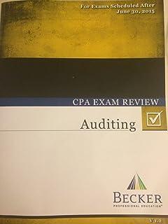 Becker cpa exam review financial 2015 edition v 12 becker 2015 becker cpa exam review auditing v 12 fandeluxe Choice Image