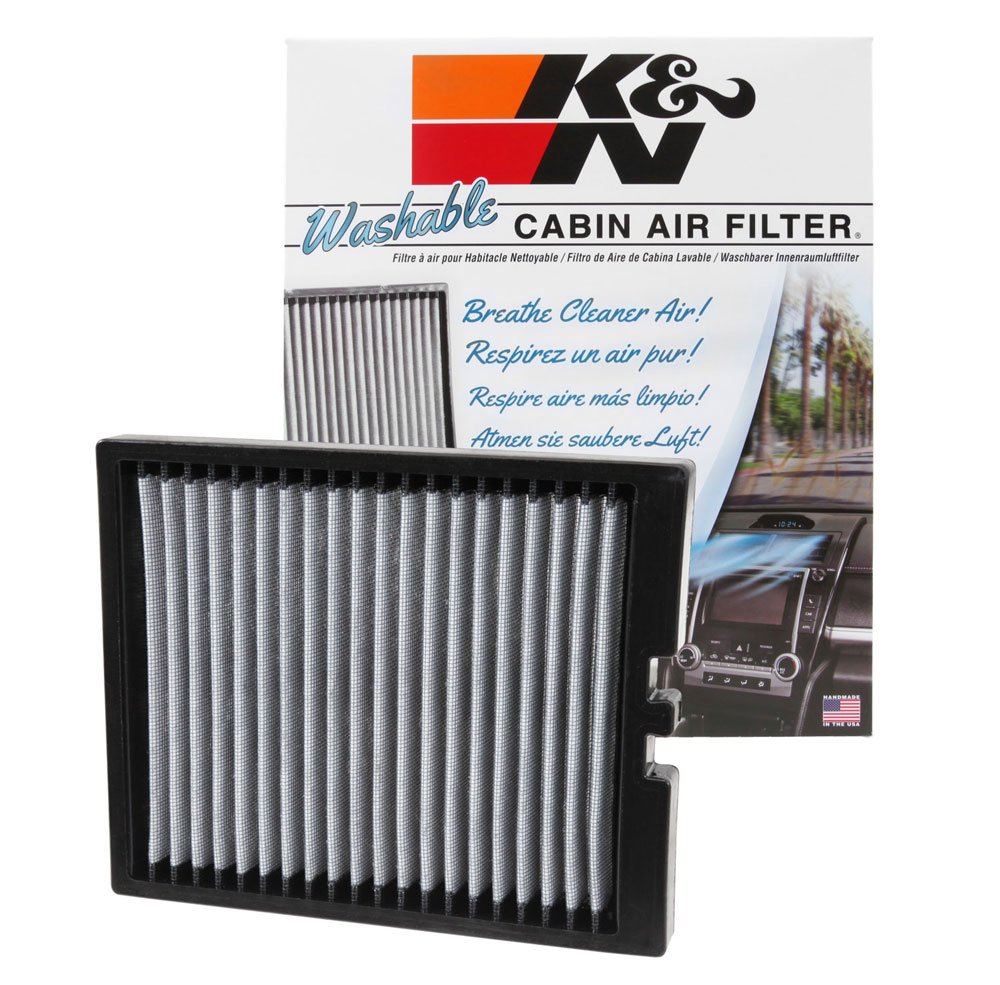 Lincoln MKS K/&N Engineering Flex K/&N VF1011 Washable /& Reusable Cabin Air Filter Cleans and Freshens Incoming Air for your Ford Explorer Taurus