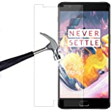 Red Qube Hammer Proof Fiber Tempered Screen Protector with Oleophobic Coating for OnePlus 3 / 3T